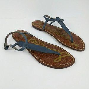 ¡New! Sam Edelman Slate Gray 'Gigi' Sandals sz 10
